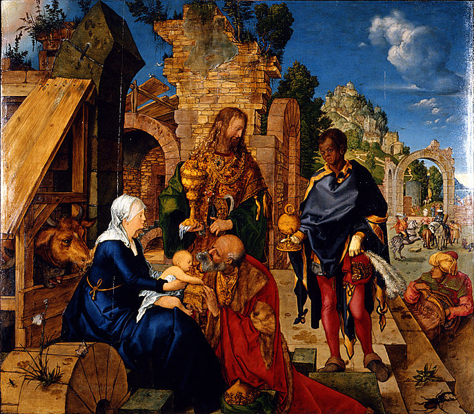 Adoration of the Magi by Albrecht_Dürer