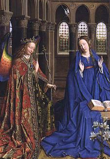 -Annunciation by Jan Van Eyck