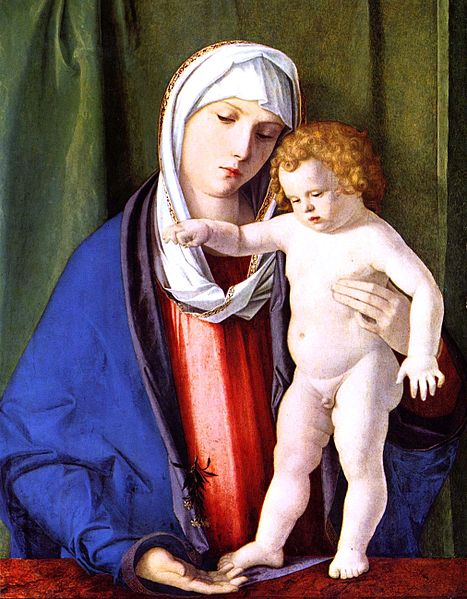 madonna and child-Giovanni_Bellini