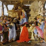 adoration of the Magi by Botticelli copy